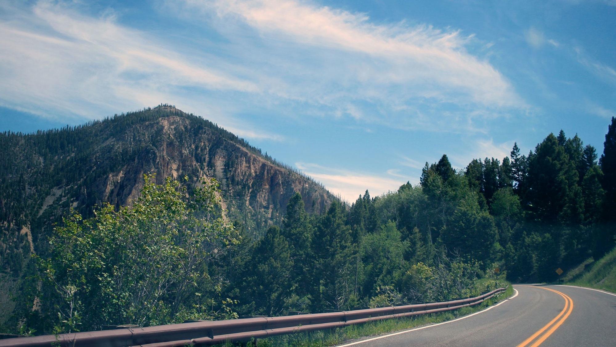 Mountain road photo 27398 extra