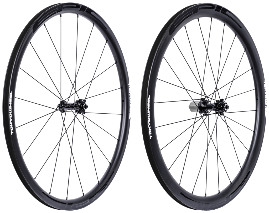 Tokyowheel epic 3 4 set disc non drive side angle super