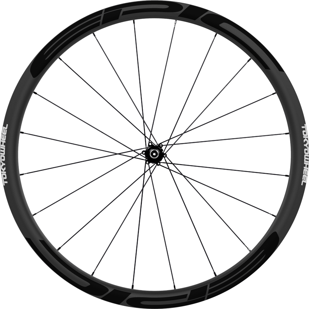 Epic 33 disc single wheel black min