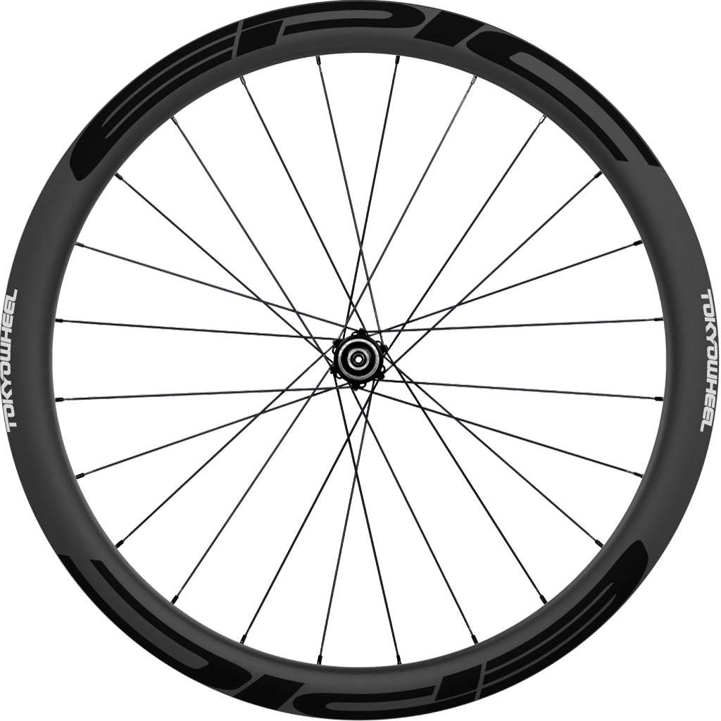 Epic 43 disc single wheel black min