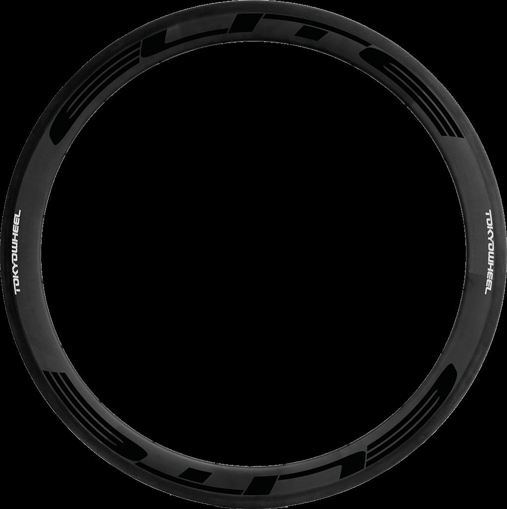 Elite 50 carbon tubular rim black min
