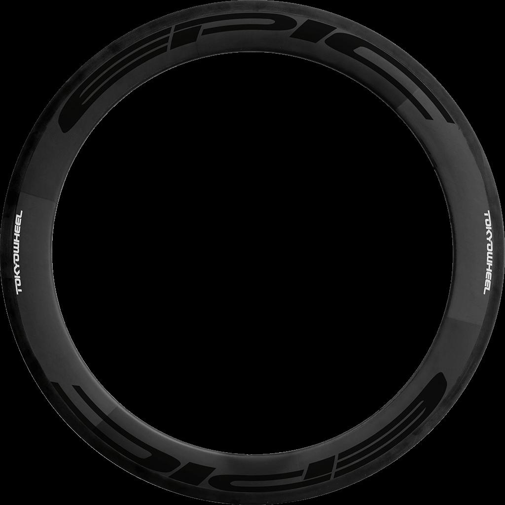 Elite 60 carbon tubular rim black min