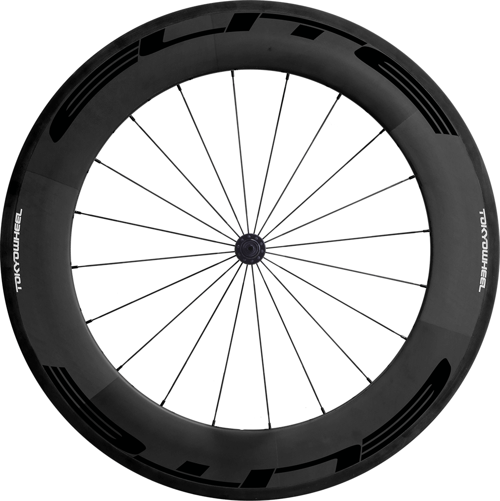 Elite 88 carbon tubular front black min