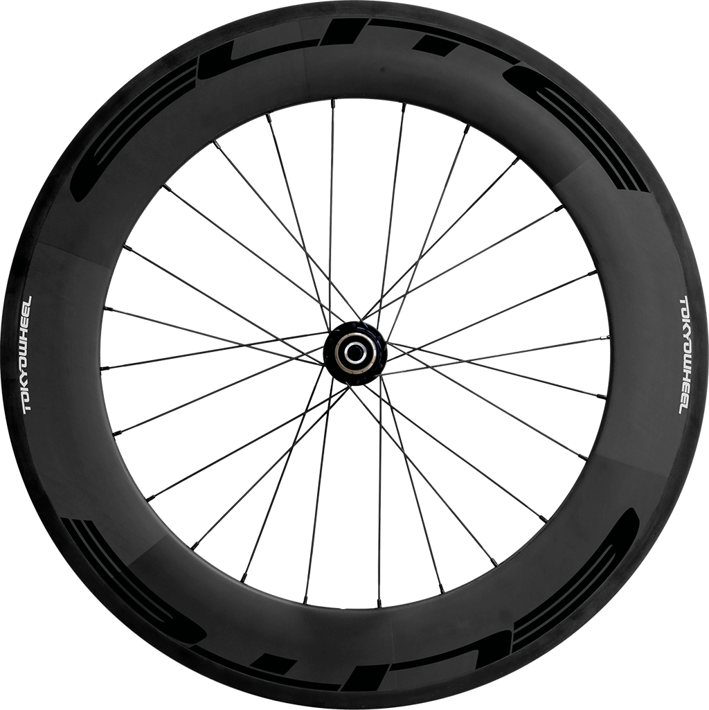 Elite 88 carbon tubular rear black min