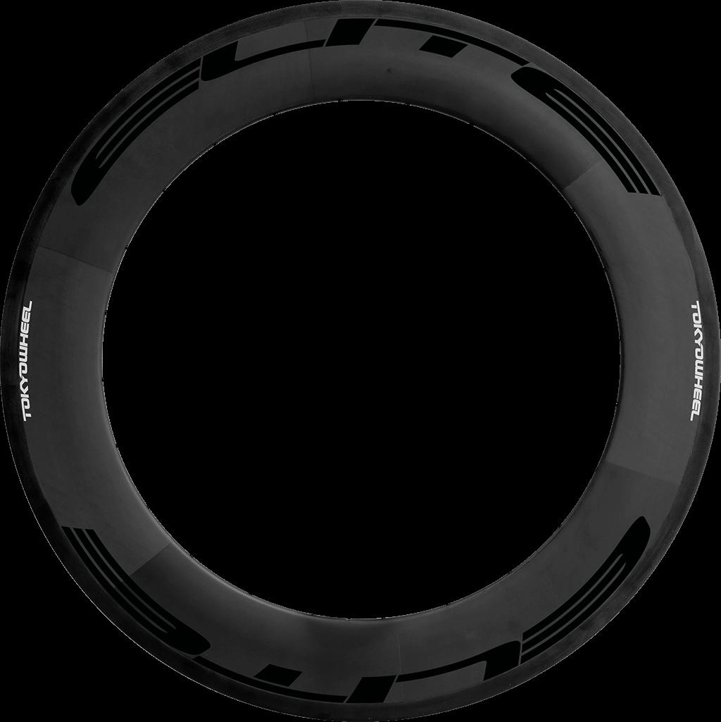 Elite 88 carbon tubular rim black min