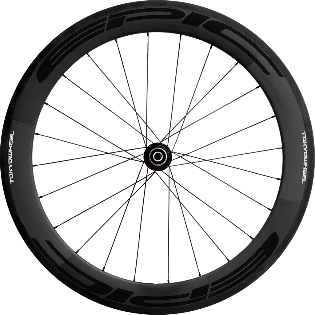 Epic 60 carbon clincher rear black min