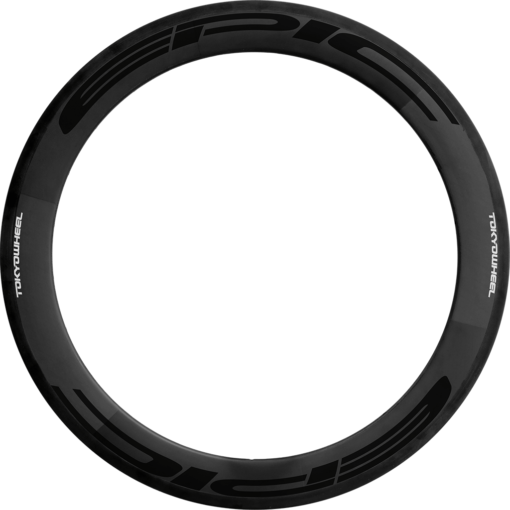 Epic 60 carbon clincher rim black min