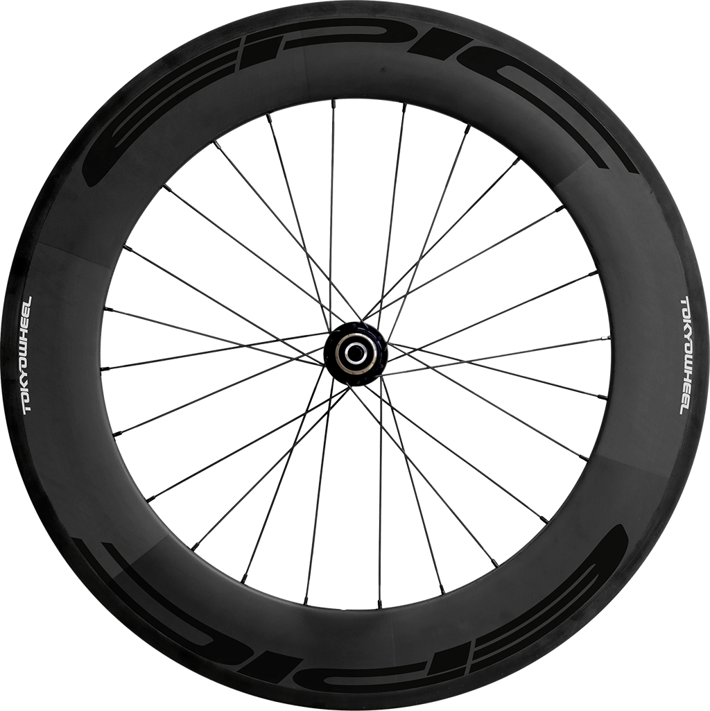 Epic 88 carbon clincher rear black min