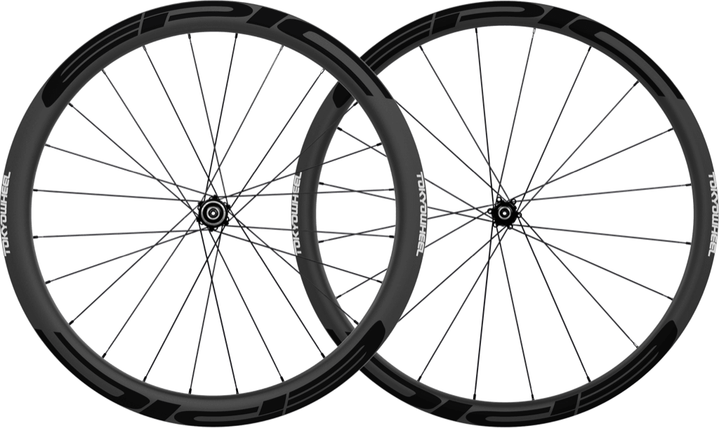 Epic 3 4 disc carbon clincher wheelset black min