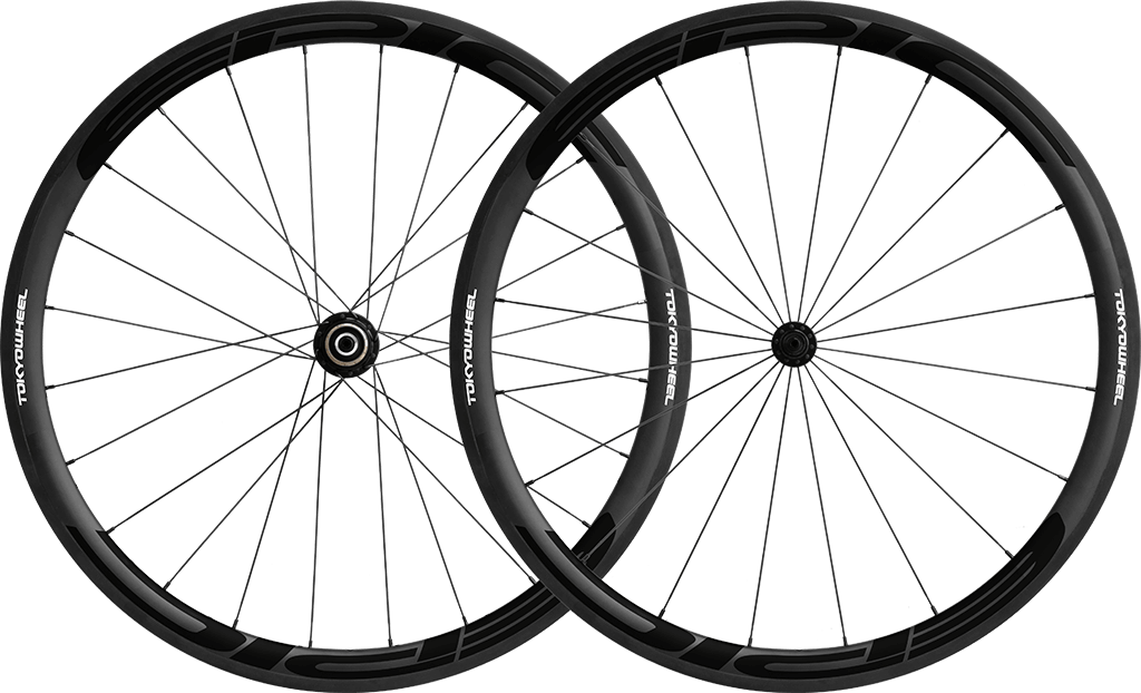 Epic 38 carbon clincher wheelset black min