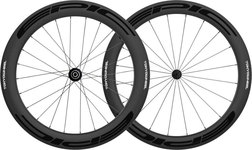 Epic 5 6 carbon clincher wheelset black min