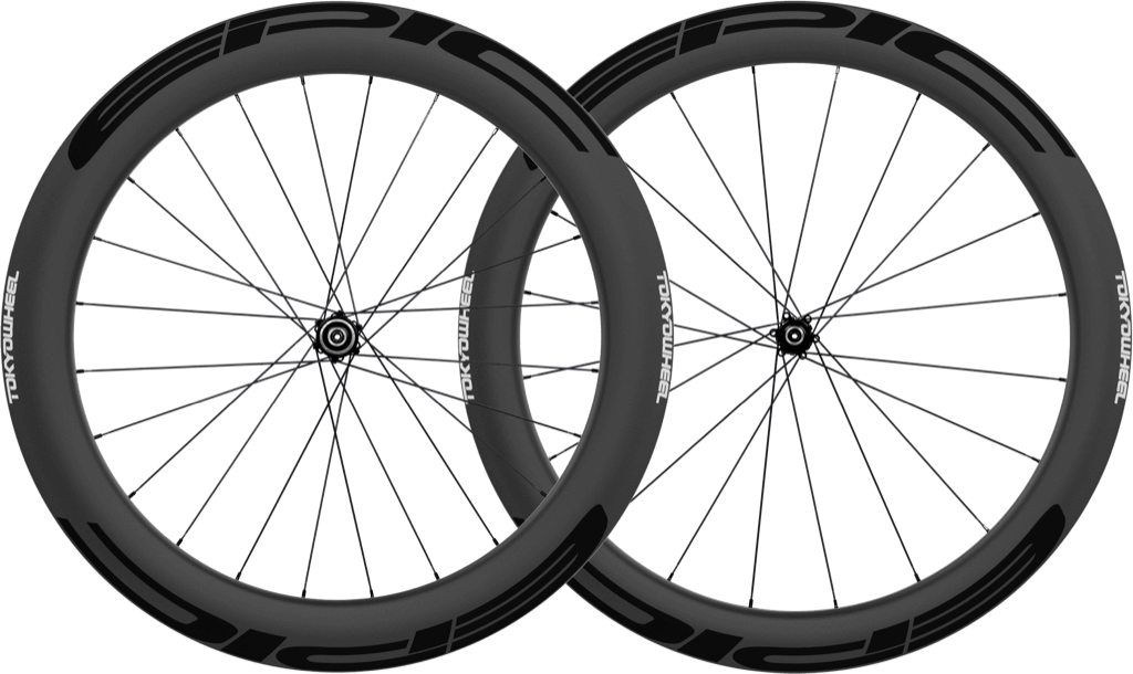 Epic 5 6 disc carbon clincher wheelset black min