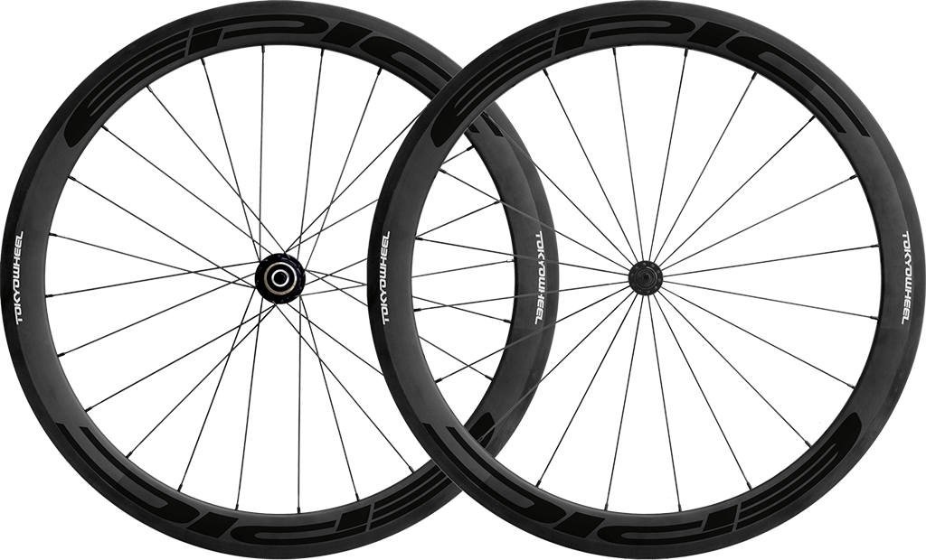Epic 50 carbon clincher wheelset black min