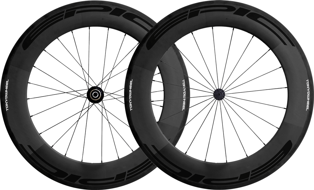Epic 88 carbon clincher wheelset black min