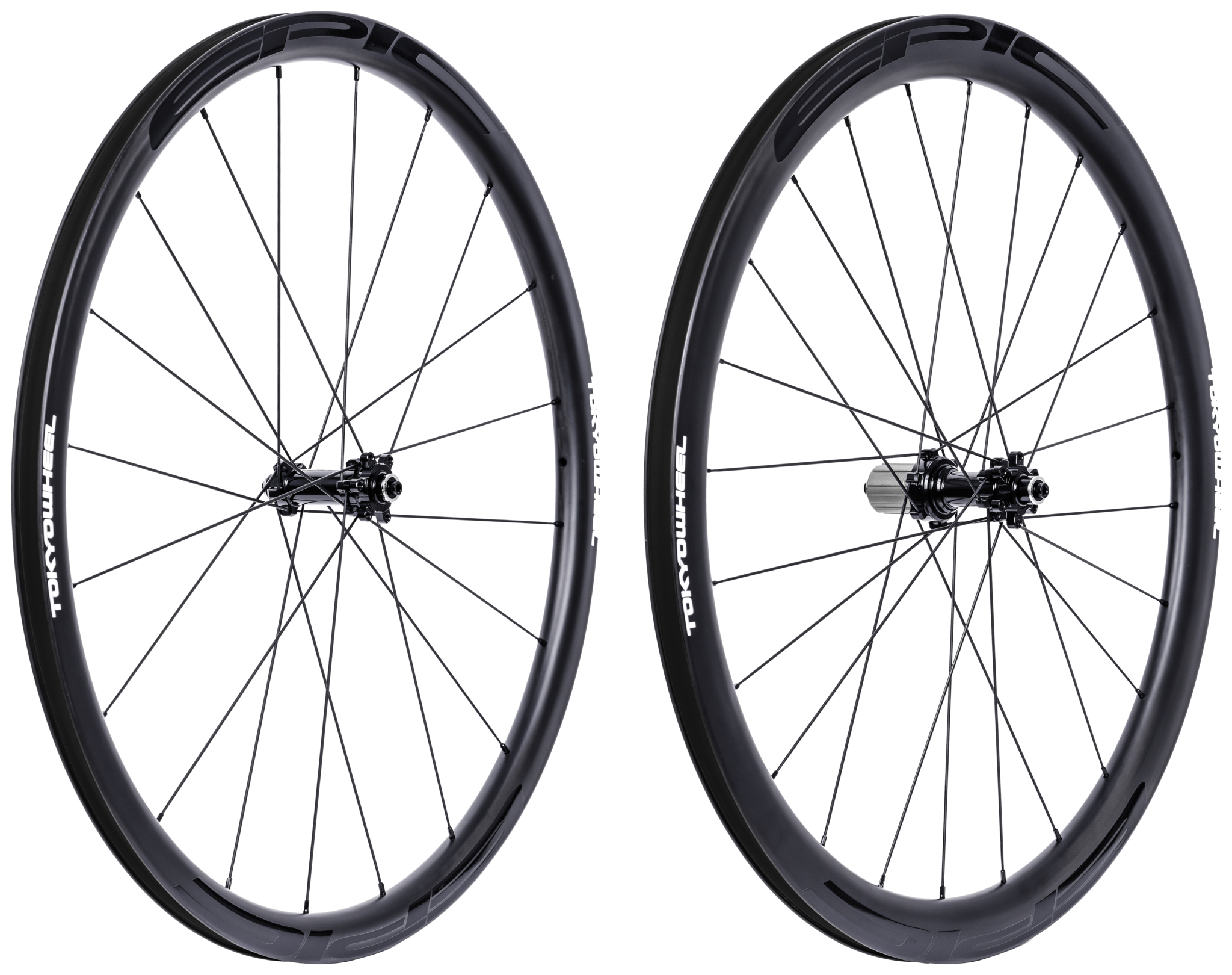 Tokyowheel epic 3 4 set disc non drive side angle extra
