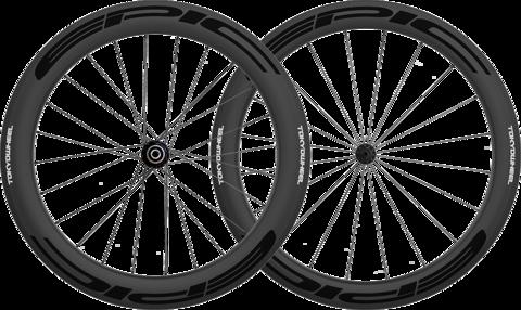 Epic 5 6 carbon clincher wheelset black large