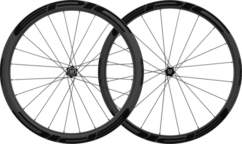 Epic 3 4 disc carbon clincher wheelset stealth large