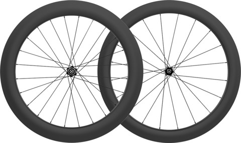 Epic 5 6 disc carbon clincher wheelset no logo large