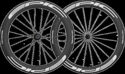 Epic 5 6 carbon clincher wheelset white super min large
