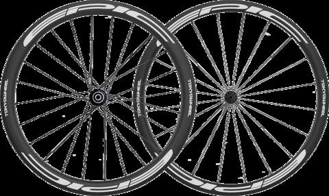 Epic 3 4 carbon clincher wheelset white super min large