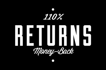 Tokyowheel 110% Money-Back Returns