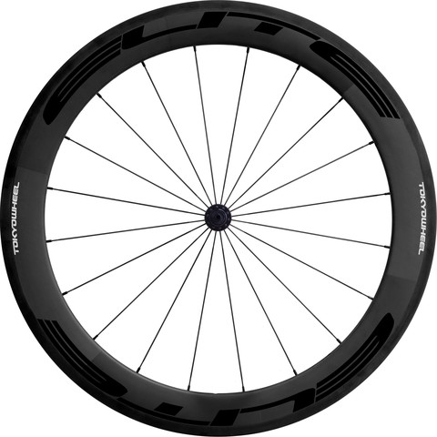 Tokyowheel Elite 60mm Carbon Tubular Road Bike Wheels